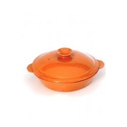 Cocotte ovale céramique
