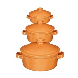Cocottes céramique 3 modèles