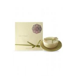 Savon pur végétal 200 gr jasmin porte savon rond